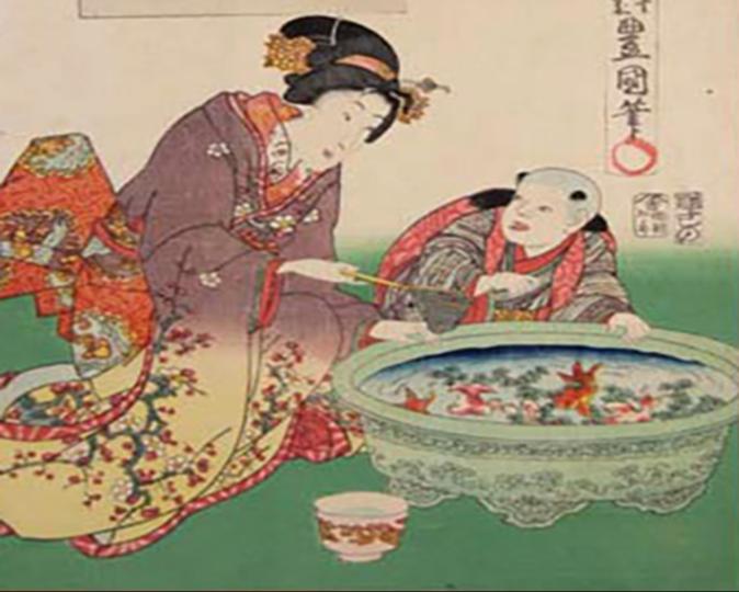 「あつまけんしみたて五節句」歌川国貞(画像提供/国立国会図書館ウェブサイト)